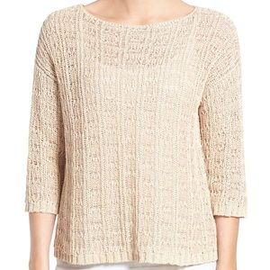 Eileen Fisher Knit Bateau Neck Sweater {B2}